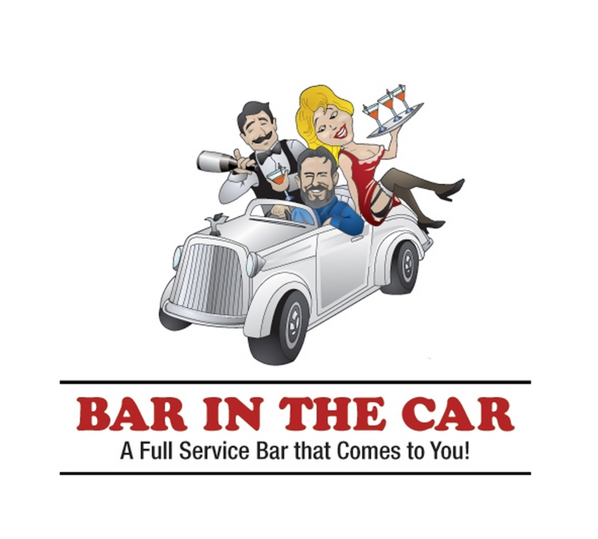 bar in the car - a full service bar that comes to you